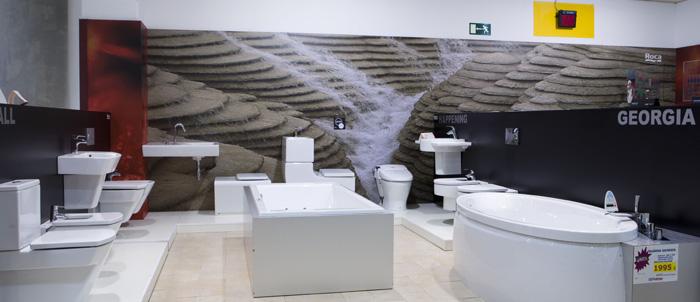 Exposición cuartos de baño
